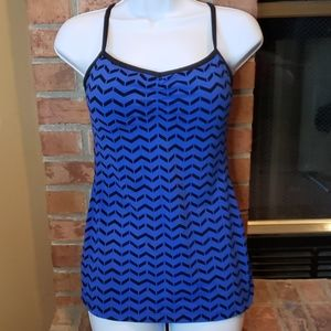 Lucy Blue Tank Top